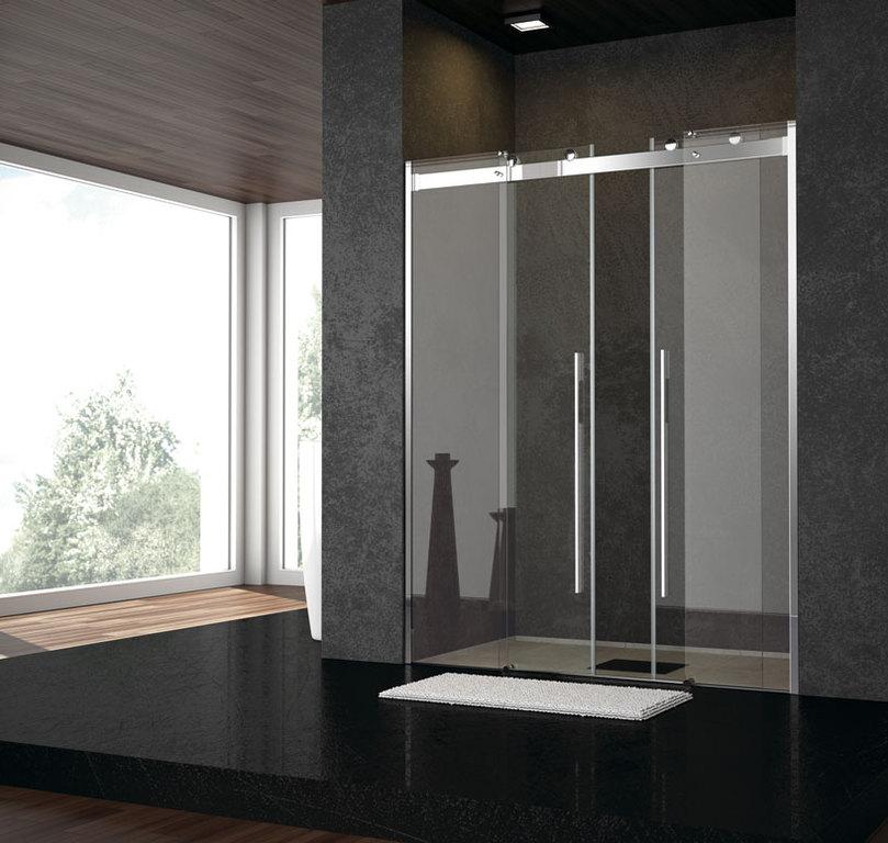 Mamparas para ducha aluminios jesus diaz for Mamparas de ducha 80x80