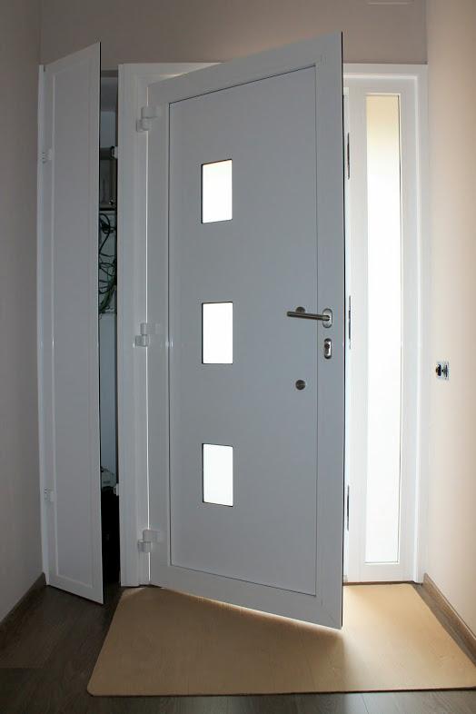 Puertas de entrada de aluminio puertas de entrada de for Puerta de entrada de aluminio con vidrio